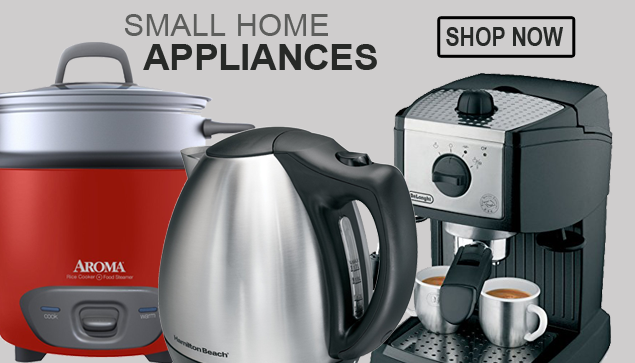 Small home appliances like electric kettle